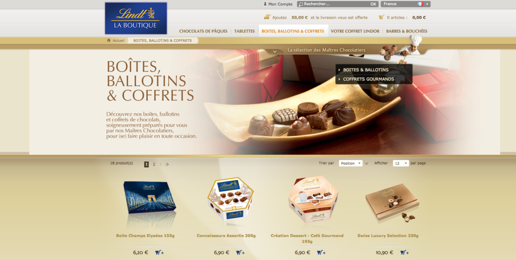 Lindt Boutique France