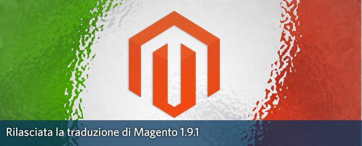 Traduzione Italiana Magento 1.9.1