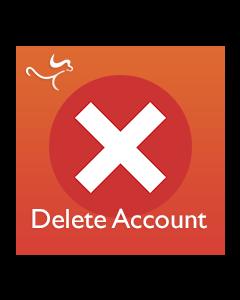 Modulo Eliminazione account Cliente per Magento