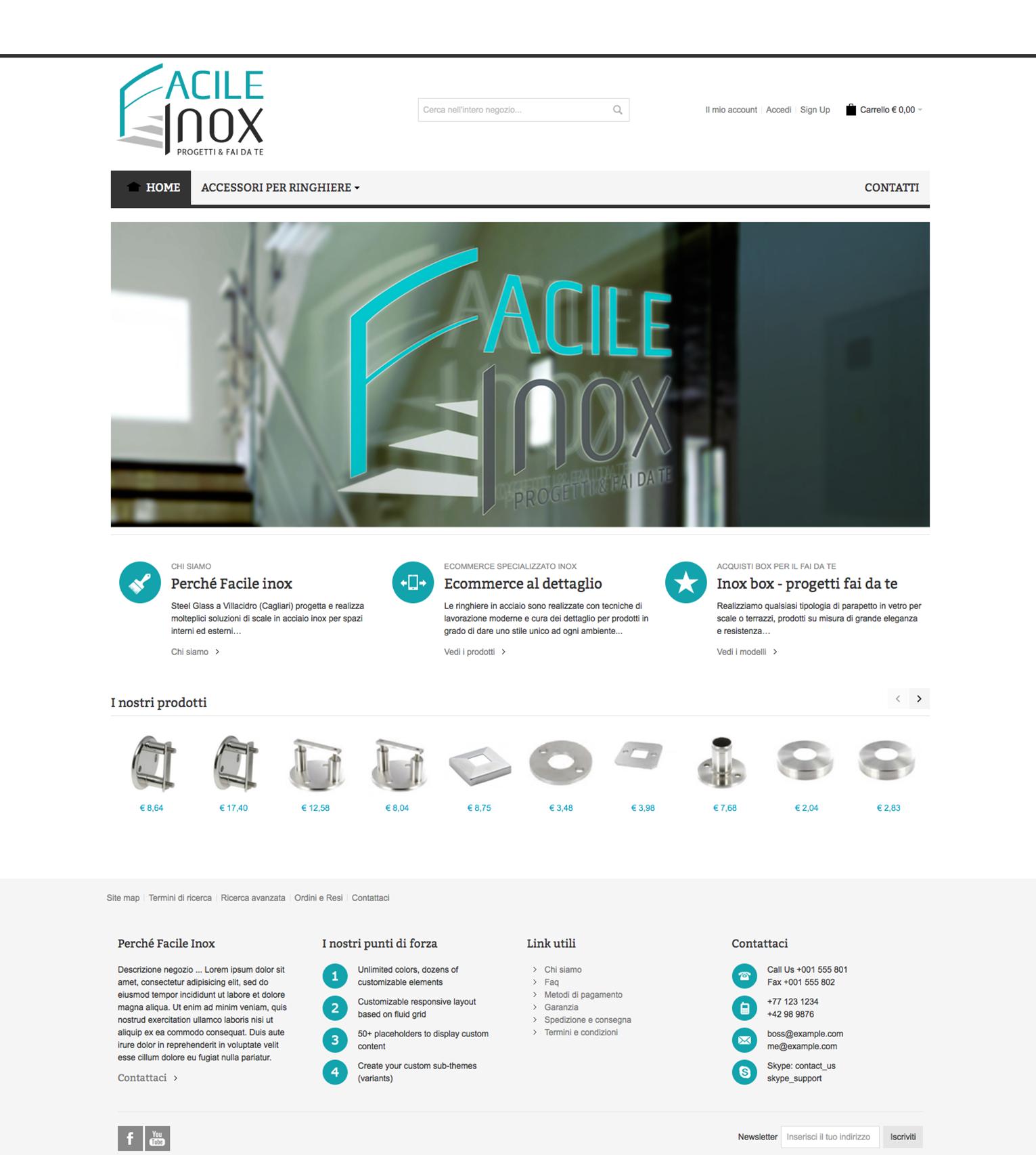 Facile inox (non online)